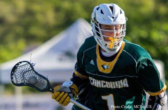 Jonah Rinaldi, Concordia Lacrosse
