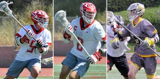 2017 All-Bay League Team: Jack Collins, Palos Verdes; John Gressett, Palos Verdes; Scott Phillips, Peninsula