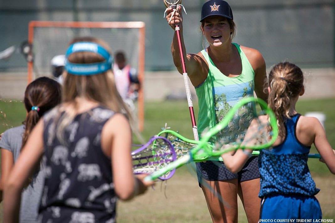 Alyssa Leonard, Trident Lacrosse