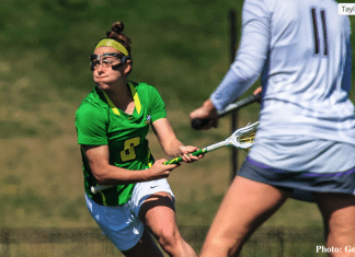 Julia Taylor, University of Oregon, Women's Lacrosse