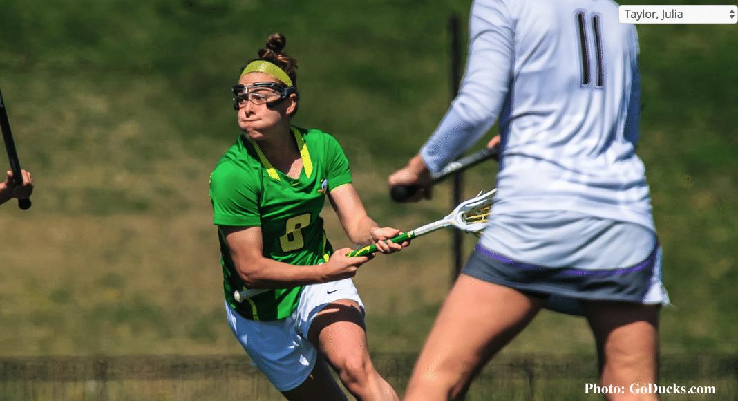 Julia Taylor, University of Oregon, Women's Lacrosse