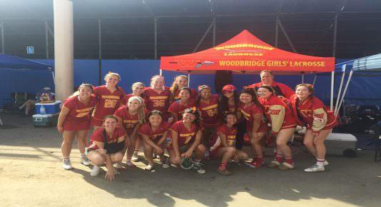 Woodbridge girls' lacrosse