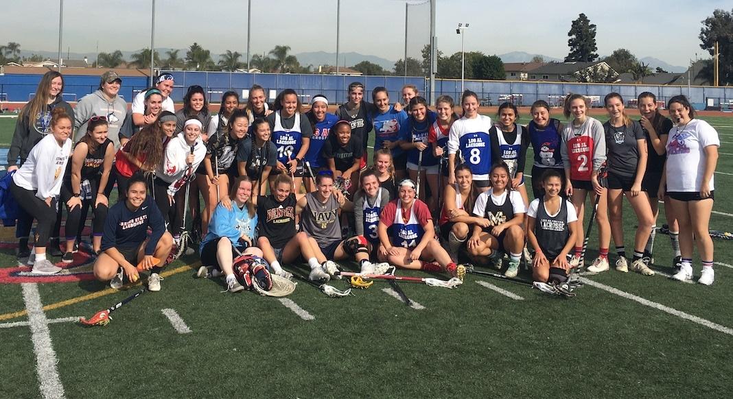 Los Alamitos Girls Lacrosse, 2017 Alumni Game