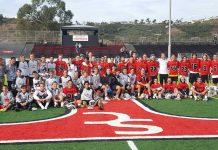 San Clemente boys lacrosse 2017 Alumni Game