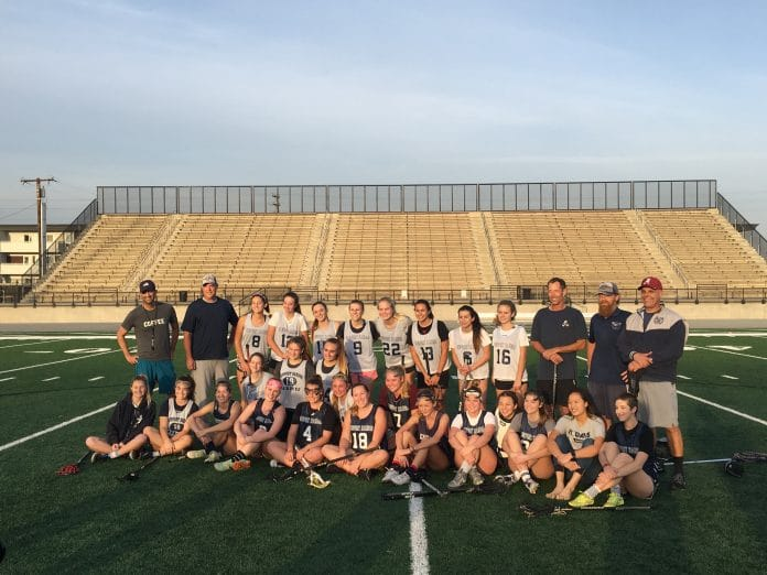 Newport Harbor girls lacrosse alumni game 2018