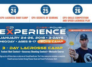 Casey Powell lacrosse camp