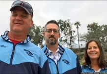 Boz Crowther, Eitye Sheklow, Alison Dodson - Crescenta Valley girls lacrosse coaches