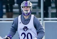 Kevin Kodzis, Holy Cross Men's Lacrosse