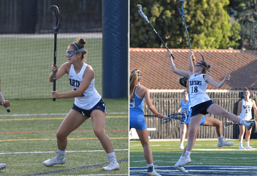 Emily Suh and Cailin Young will captain the St. Margaret's Girls Lacrosse team in 2018