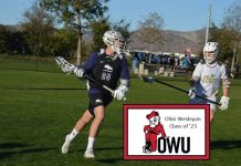 Jared Friesen of Trabuco Hills boys lacrosse has committed to Ohio Wesleyan