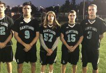 Santiago Boys Lacrosse Captains 2018