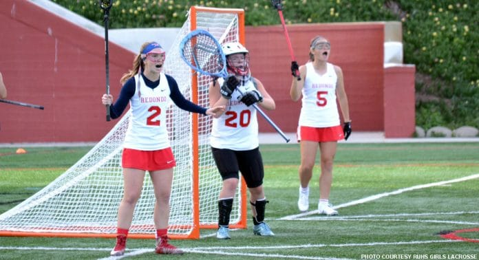 Redondo Union girls lacrosse