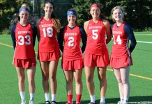 Redondo Union girls lacrosse 2018 seniors