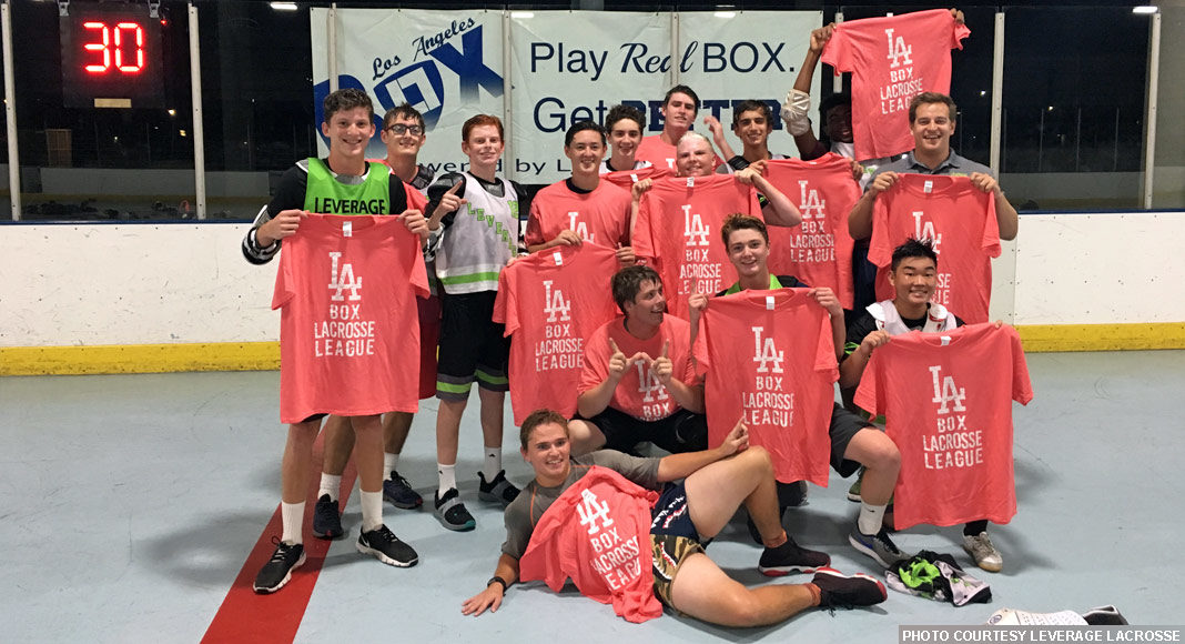 Leverage Grey, 2018 Varsity Champs, LA Box Lacrosse League