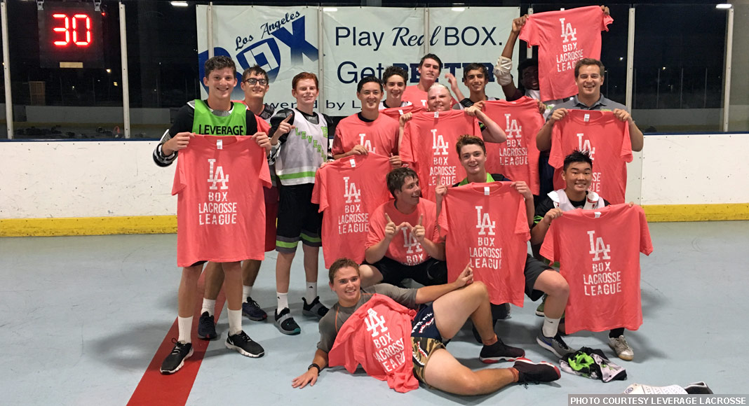 Leverage Grey, 2018 Varsity Champs, LA Box Lacrosse League