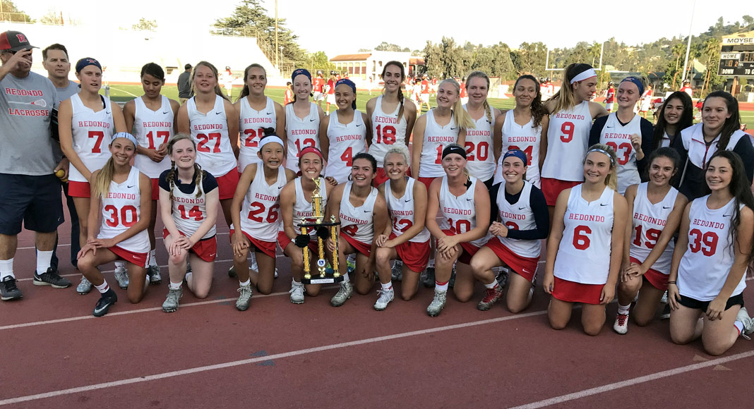 Redondo Union Girls Lacrosse, 2018 LA Champion