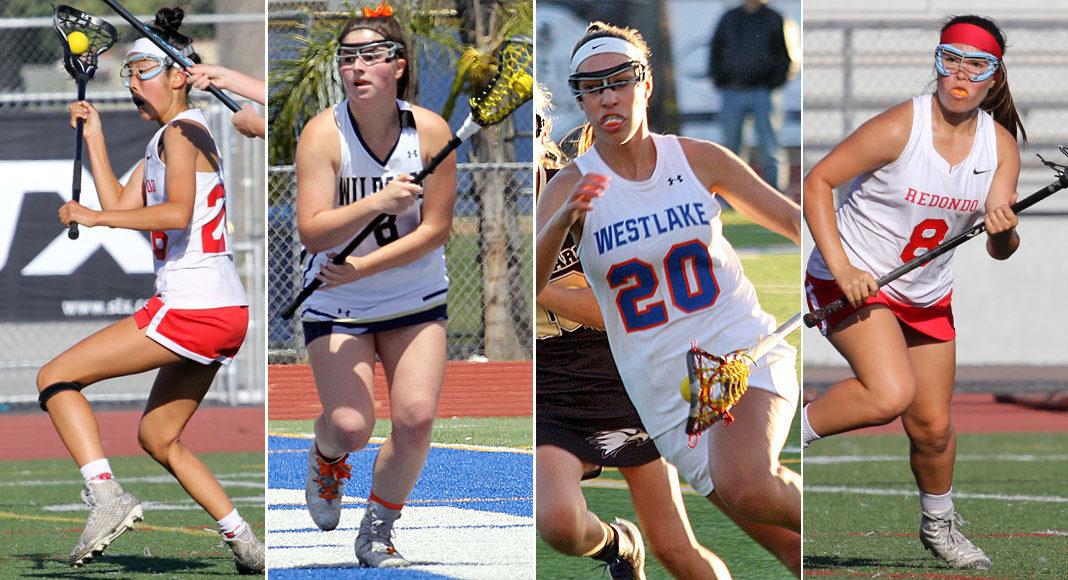 Brooke Tokushige, Bella Gervasi, Shelby Tilton, Marianna Gamet; 2019 LA Juniors Players to Watch