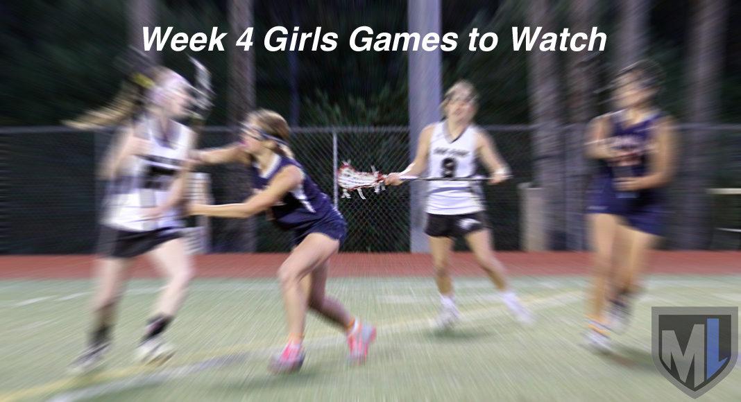 Week 4 Girls Games to Watch