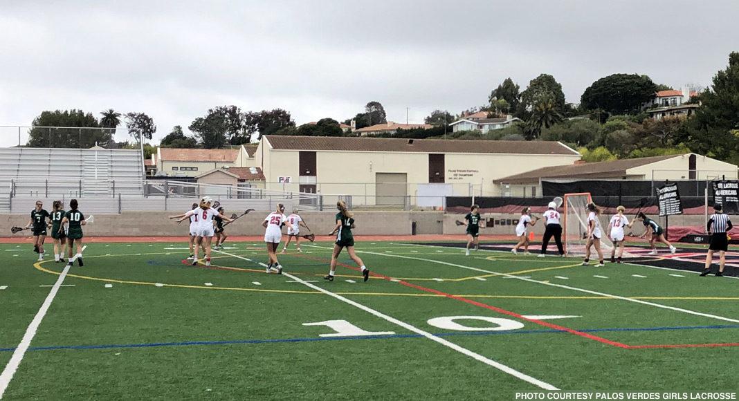 Palos Verdes girls lacrosse vs. Poway