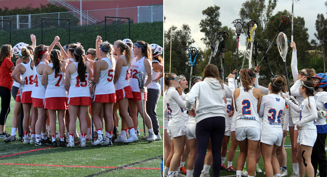 Redondo Union girls lacrosse; Westlake girls lacrosse