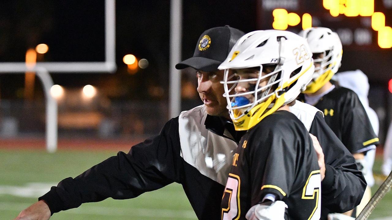 Alexis Goeller was hired as head coach of boys lacrosse at Peninsula High School in Palos Verdes.