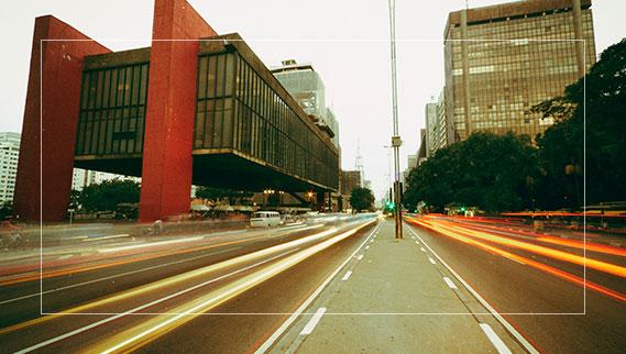MASP na avenida Paulista