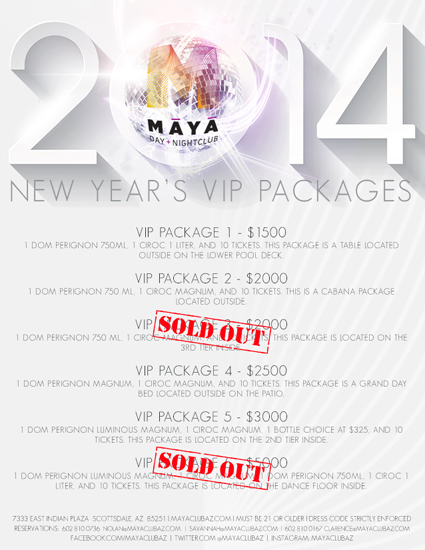 VIP Packages