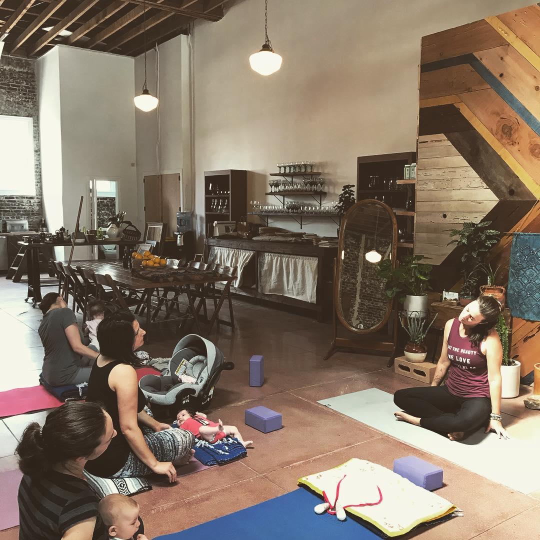 Ma Yoga Prenatal Yoga Long Beach - and Mom + Baby yoga too!