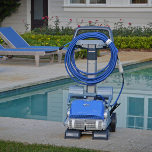 Dolphin M400 Robotic Pool Cleaner Caddy