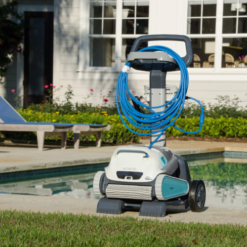 Dolphin Active 30 Robotic Pool Cleaner Caddy