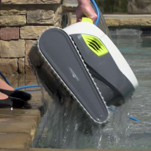 Dolphin T35 Robotic Pool Cleaner Quick Water Release