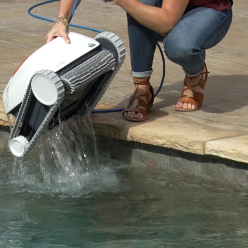 Dolphin Echo Robotic Pool Cleaner Quick Water Release