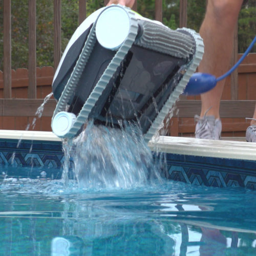 Dolphin T15 Robotic Pool Cleaner Quick Water Release