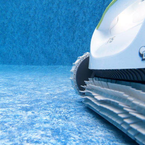 Dolphin T15 Robotic Pool Cleaner Brushing
