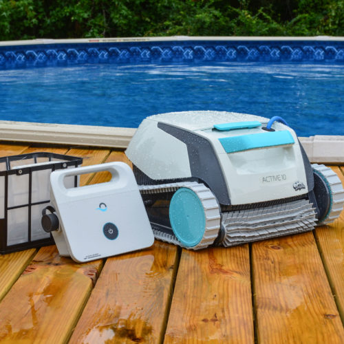 Active 10 Robotic Pool Cleaner with Accessories