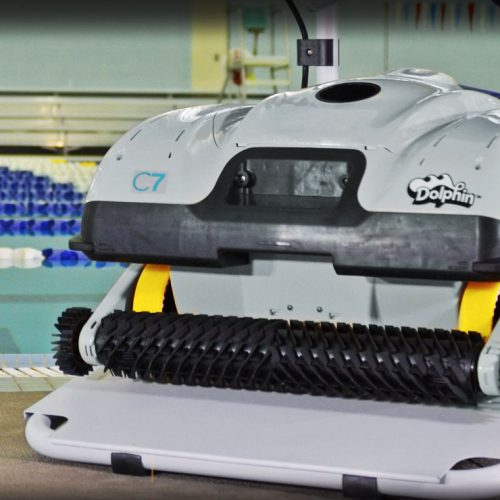 Dolphin C7 Commercial Robotic Pool Cleaner