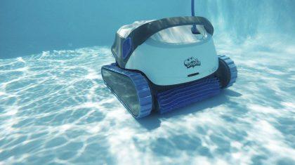 Dolphin Pool Robot Underwater