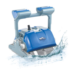 Dolphin M500 Robotic Pool Cleaner - Splash
