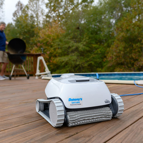 Dolphin Saturn Robotic Pool Cleaner