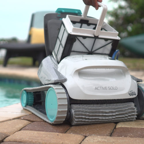 Dolphin Solo Robotic Pool Cleaner Filter Basket