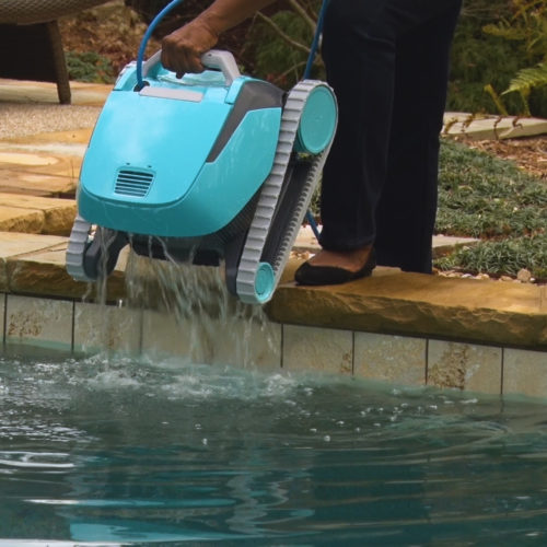 Dolphin Encore Robotic Pool Cleaner Quick Water Release