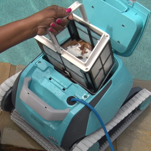 Dolphin Encore Robotic Pool Cleaner Filter Basket