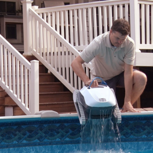 Dolphin E10 Robotic Pool Cleaner Quick Water Release