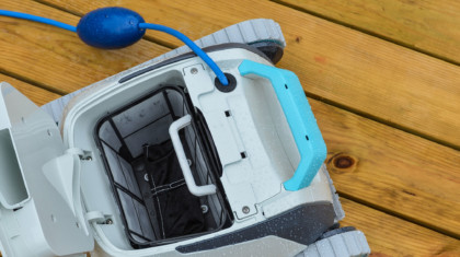 Dolphin A10 Robotic Pool Cleaner from Above