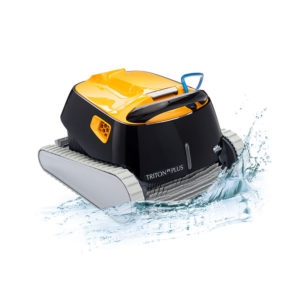 Dolphin Triton PS Plus Robotic Pool Cleaner - Splash
