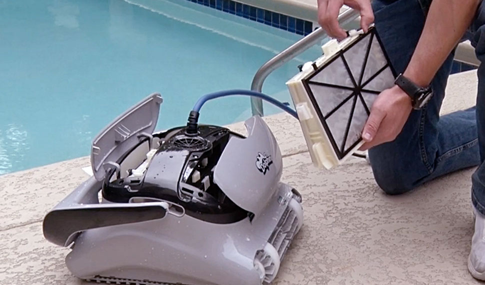 Dolphin C Class Robotic Pool Cleaner Easy Change Filters
