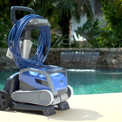 Dolphin M600 Robotic Pool Cleaner Caddy