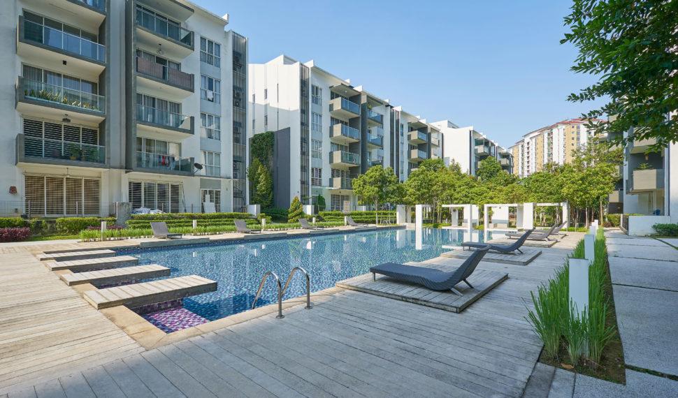 Apartment Complex Pools