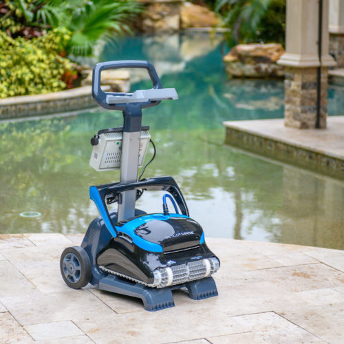 Dolphin Nautilus CC Supreme Robotic Pool Cleaner Caddy