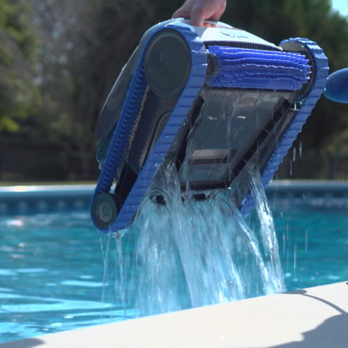 Dolphin S100 Robotic Pool Cleaner Quick Water Release